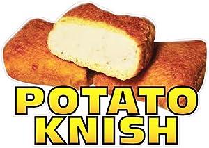 Potato Knish Concession Restaurant Food Truck Die-Cut Vinyl Sticker 8
