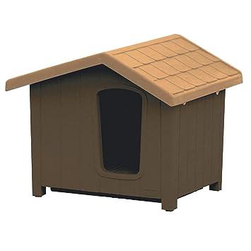 Clara 5 Marrón 135 x 118 x 109 Caseta para perros de exterior coibentata: Amazon.es: Productos para mascotas