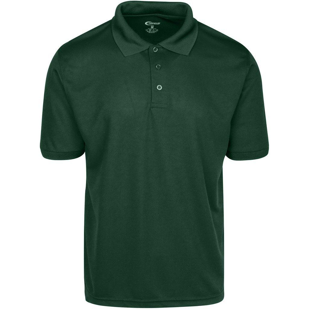 Amazon Premium Mens High Moisture Wicking Polo T Shirts Sports