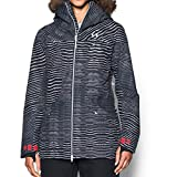 Under Armor Women's ColdGear Infrared Kymera Jacket, Black/Marathon Red, Small