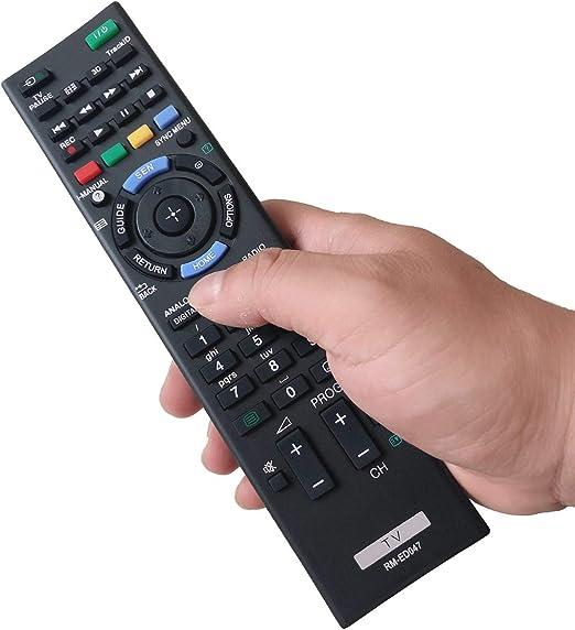 EAESE RM-ED047 Mando a Distancia para Sony Bravia Control Remoto Universal Smart TV KDL-32R300B KDL- 32BX320 KDL-46BX421 KDL-32BX321 KDL-32BX421 KDL-40BX420 KDL-40BX421 KDL-46BX420: Amazon.es: Electrónica
