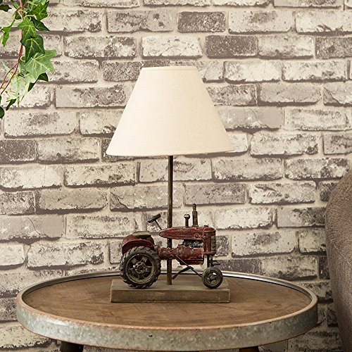 Glitzhome 18.9''H Table Lamp-Farmhouse Rustic Design
