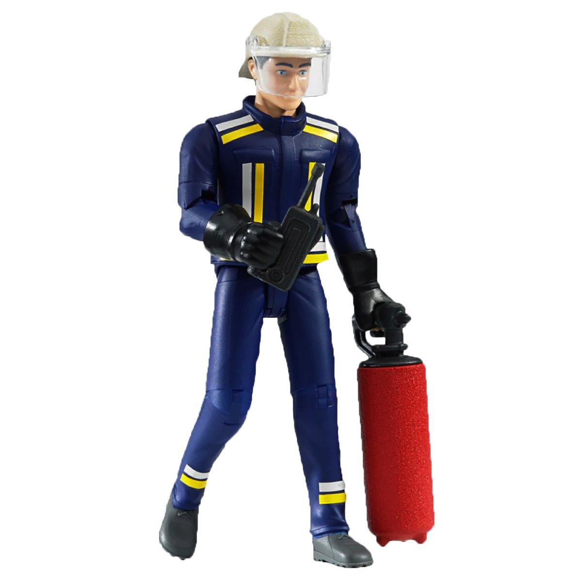bruder 60100 - Feuerwehrmann mit Zubehör