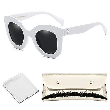 996552a91da0 Aolvo Round Sunglasses Cat Eye Sunglasses