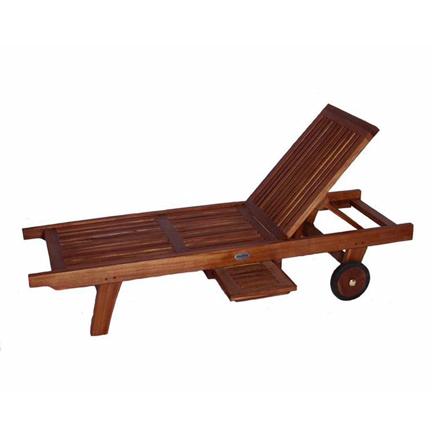 Amazon Classic Kids Teak Chaise Lounge Home & Kitchen