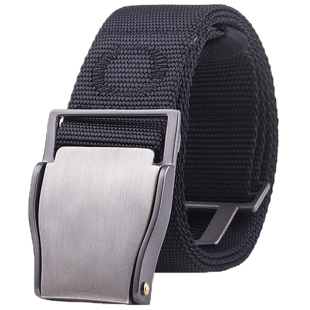 Quick Release Nylon Belt For Men Pants Easy Off Outdoor Sport Travel