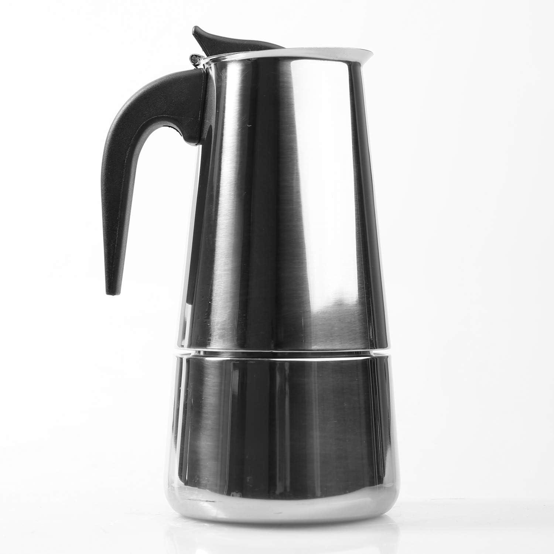 MI CASA Cafetera de Acero Inoxidable para 6 Tazas: Amazon.es: Hogar