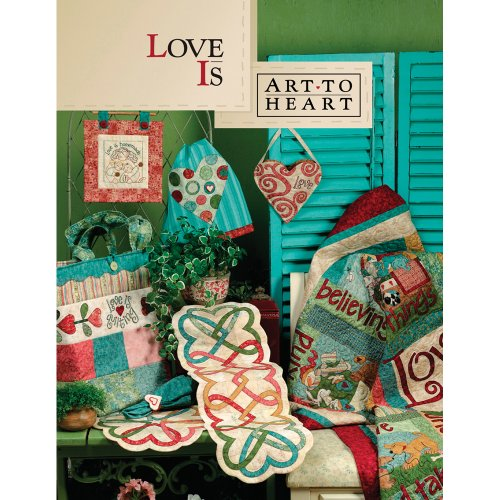 (Art To Heart ART-535B Book, Love is)