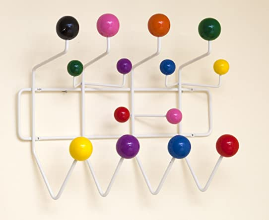 Hang It All De Eames Mutlicolore Couleur Mural Crochet Porte