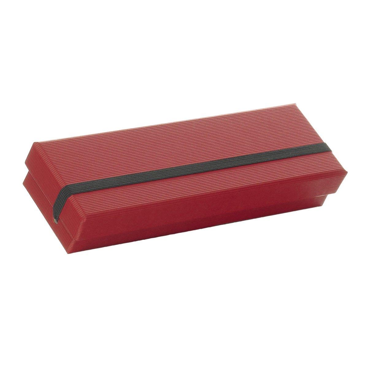 Rössler Papier - - S.O.H.O. Rot - Stiftebox m. Gummizug - 200x55x30 - Liefermenge  4 Stück B07CX7R8MQ | Attraktiv Und Langlebig