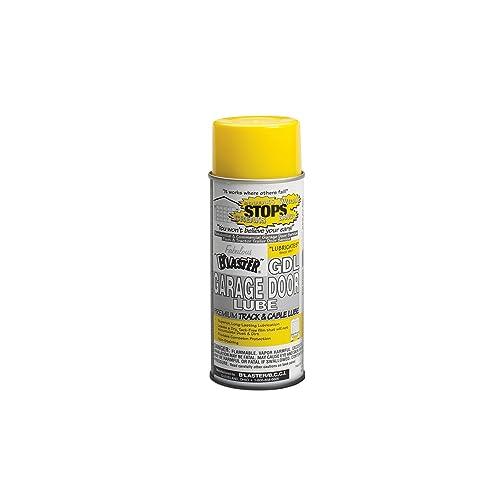 B'laster 16-GDL-12PK Premium Silicone Garage Door Lubricant