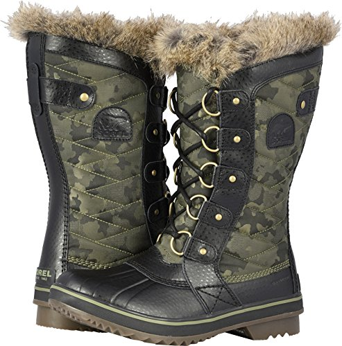 SOREL Women's Tofino II Boots, Camo/Hiker Green, 6.5 M US ()