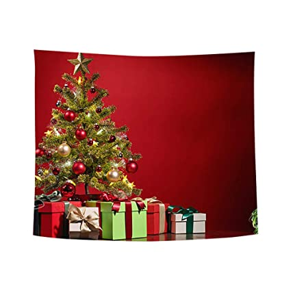 Christmas Wall Hanging Decorations.Amazon Com Midressxmas Art Home Wall Hanging Tapestry Wall