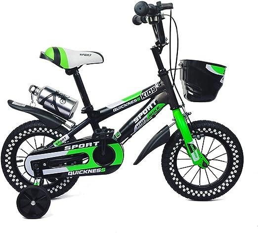 Fenfen Bicicletas para niños 3-5 años Niños y niñas Ciclismo 14 ...