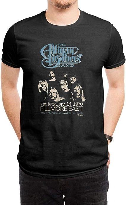 COOLCHINA Mens/Hombre Allman Brothers Band Short-Sleeve Neck T-Shirts/ Camiseta: Amazon.es: Ropa y accesorios