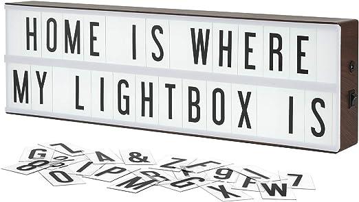 Amazon.com: My Cinema Lightbox cine Vintage Lightbox ...