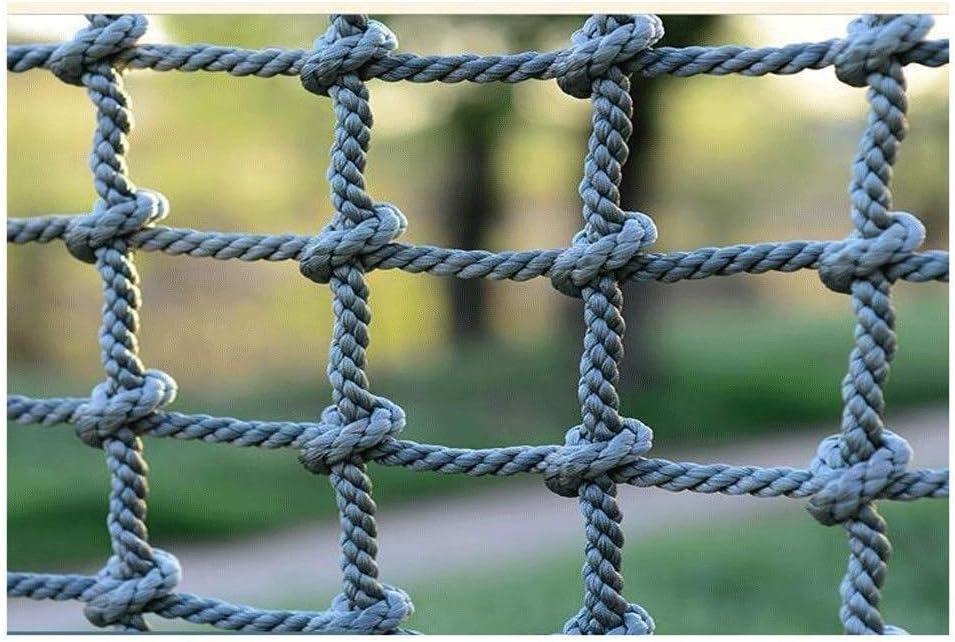 WCSClimb Climb Rope Net Playground Tree Niños Adultos Climbing Net Redes al Aire Libre for Adultos Malla Interior Adultos Malla Interior Gigante Red de Servicio Pesado