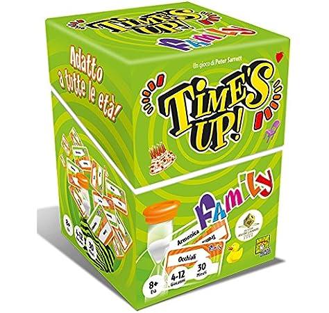 Asmodee- Times Up Family (Verde) – Juego de Mesa edición en Italiano (8213 Italia, Color: Amazon.es: Juguetes y juegos