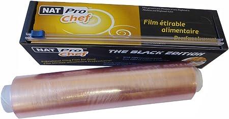 Bobine De Film Etirable Alimentaire Professionnel Avec Zipcut 45cm
