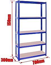heavy duty boltless metal steel shelving shelves storage unit Industrial