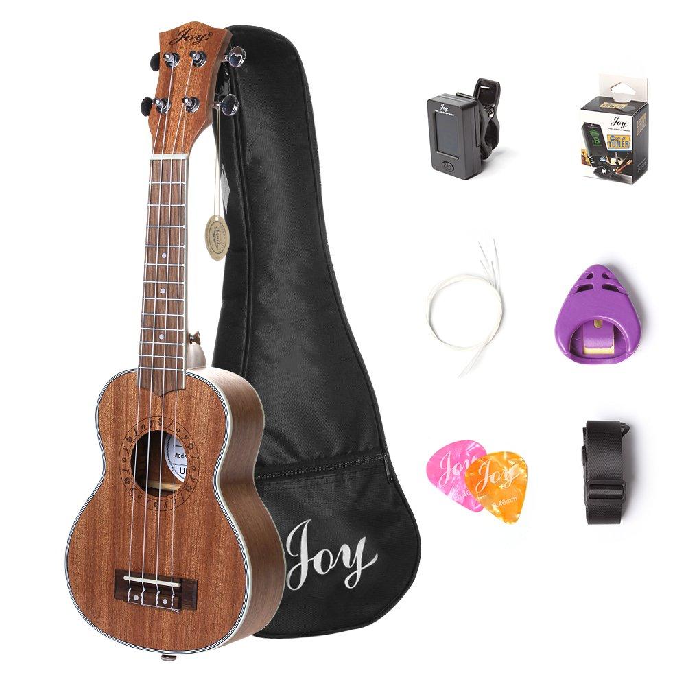 Joy Joy311 4 String Acoustic Guitar Pack Amazon Musical Instruments