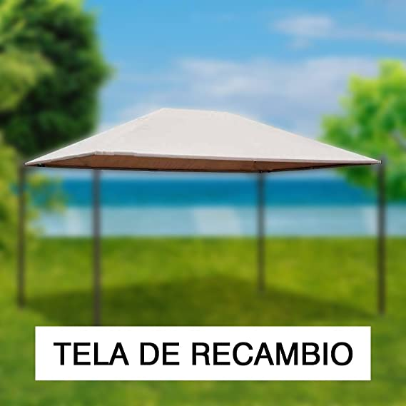 PAPILLON 8043319 8043319-Tela Recambio para pergola Estoril, Beige, 50x33x8 cm: Amazon.es: Jardín