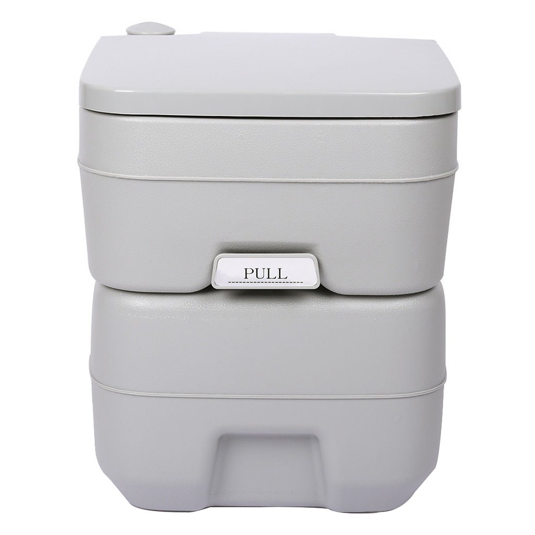 5 Gallon 20L Portable WC Toilet - TOOGOO(R) 5 Gallon 20L Portable WC Toilet Flush Camping Porta Travel Outdoor Hiking Potty by TOOGOO(R) (Image #1)