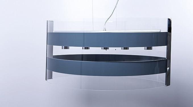Illuminazione Camera Da Letto Scelta Sospensioni : Shape lampadario moderno in plexiglass 5 luci sospensione