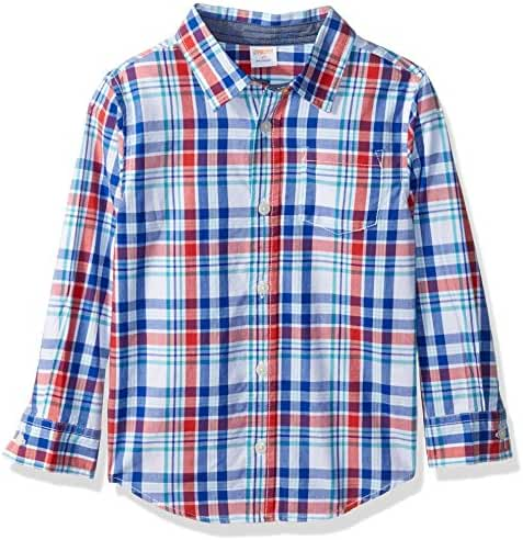 Gymboree Baby Toddler Boys' Bluered Plaid Woven Top