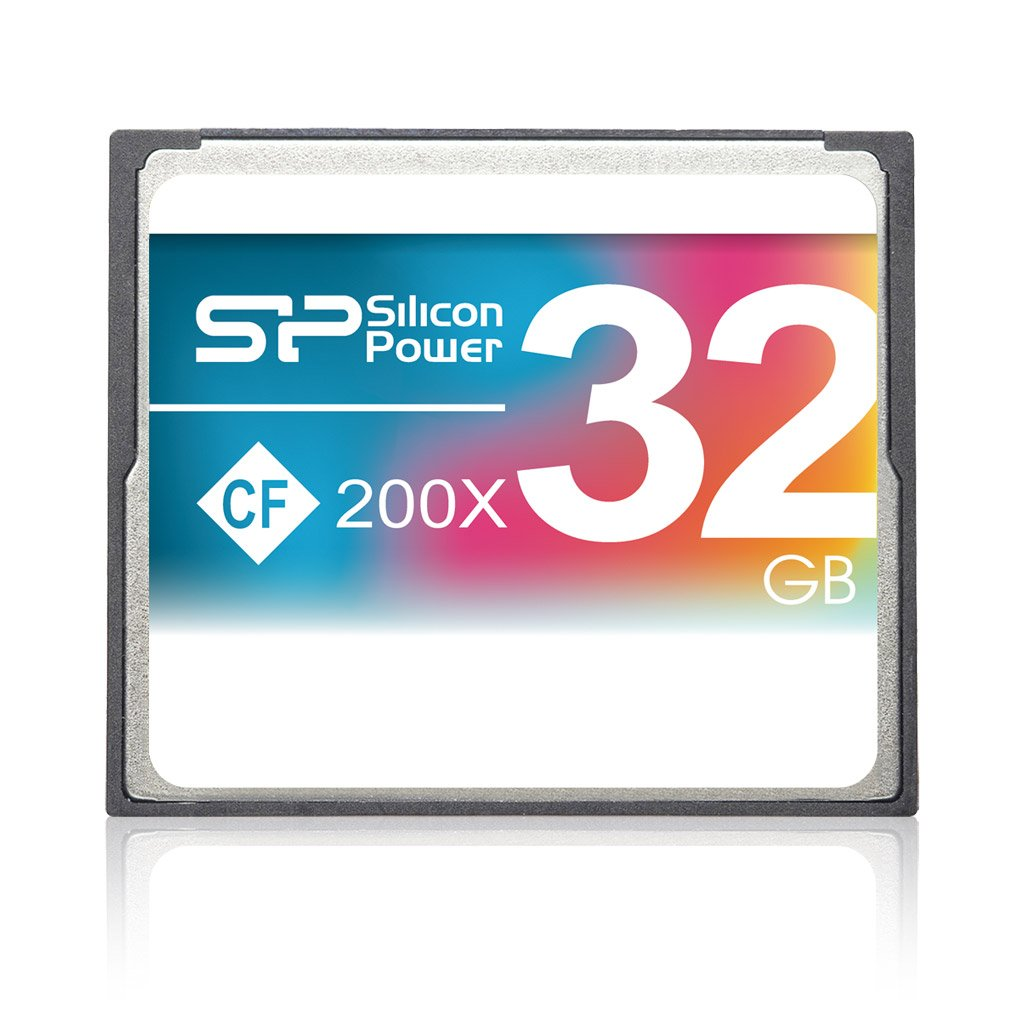 Silicon Power 32GB Hi Speed 200x Compact Flash CF card