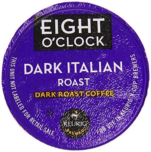 Keurig, Eight O'Clock Coffee, Dark Italian Roast, K-Cup packs, 24 Count (Italian Roast Dark compare prices)