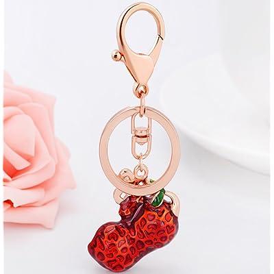 Jewellry Femmes Strass Arachide Modèle Porte-Clés Pendentif Porte-Clés Charme Décor Accessoire Toutes Les Saisons
