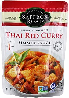 product image for Saffron Road Simmer Sauce - Thai Red Curry - Case of 8-7 Oz.