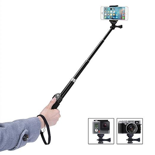 75 opinioni per GHB Bastone Selfie Telefono Selfie Stick Gopro Telescopico Palo di Estensione