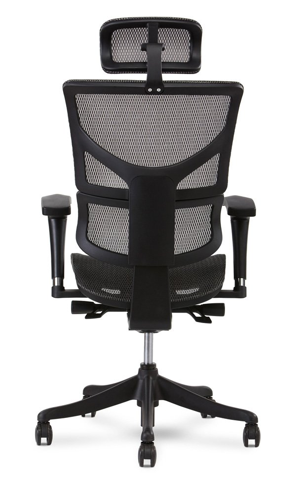 Terrific X Chair X1 Task Chair Grey Flex Mesh With Headrest Lamtechconsult Wood Chair Design Ideas Lamtechconsultcom