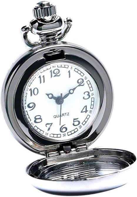 FEELHH Reloj De Bolsillo De Cadena Vintage,Graffiti