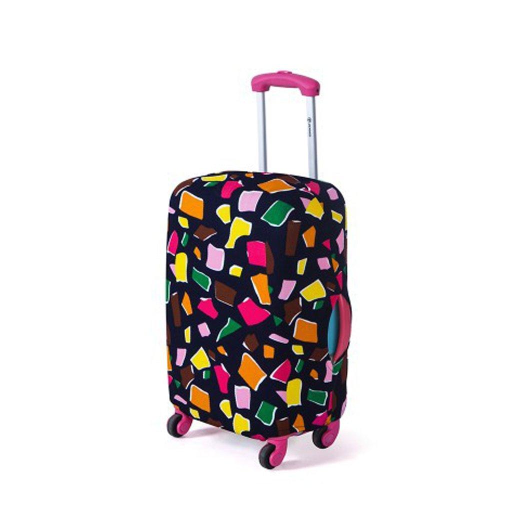 Housse de valisse Élastique Couvre bagage Imperméable Anti-rayures Imprimé Valise Couverture Protecteur pour 18-28 pouces