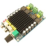 Segolike Dual Channel Digital Stereo Power Amp Module, TDA7498 DC 24V Class D 100W+100W Audio Amplifier Board for 8Ω Subwoofer Sound Speaker