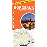 Plan de Bordeaux et de son agglomération (avec localisation des stations VCUB)