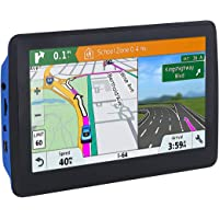 Car GPS, 7 inch Navigation System for Cars Lifetime Map Updates Sat-Nav Touch Screen Real Voice Direction Vehicle GPS Navigator