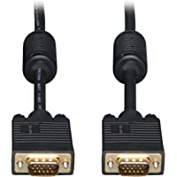 Tripp Lite VGA Coax Monitor Cable, High Resolution cable with RGB coax (HD15 M/M) 15-ft.(P502-015)