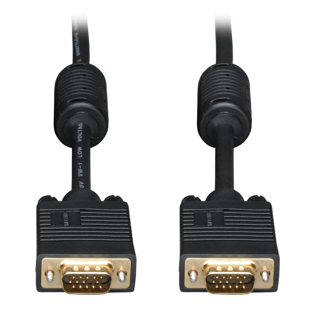 6-ft. HD15 M//M Tripp Lite VGA Coax Monitor Cable P502-006 High Resolution cable with RGB coax