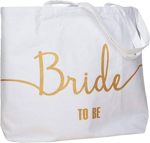 1Tote Bag Monogram Bridesmaid Gift Wedding BRIDE SHOWER ZIPPER ZIP girls Bridal