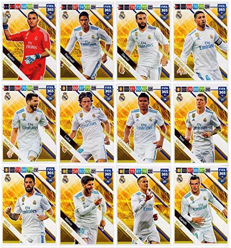 PANINI ADRENALYN XL FIFA 365 2019 – Todas Las TARJAS (12) TAMAÑO ...