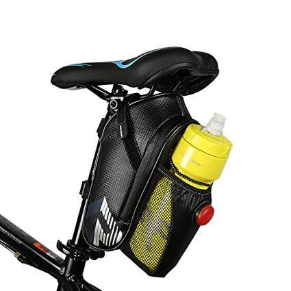 Bike Saddle Bag Mountain Bike Tail Bag Waterproof Under Seat Pouch Cycling Pack