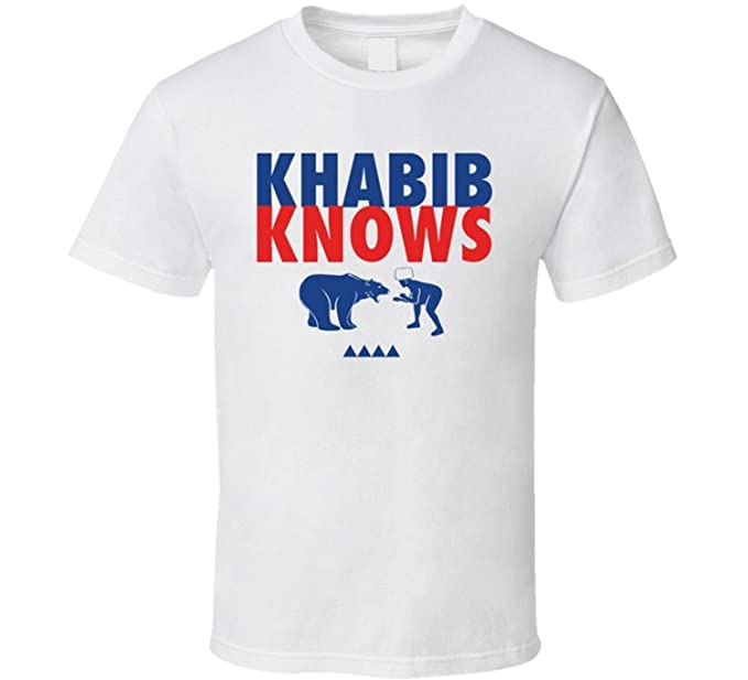 Khabib Nurmagomedov Bear Shirt
