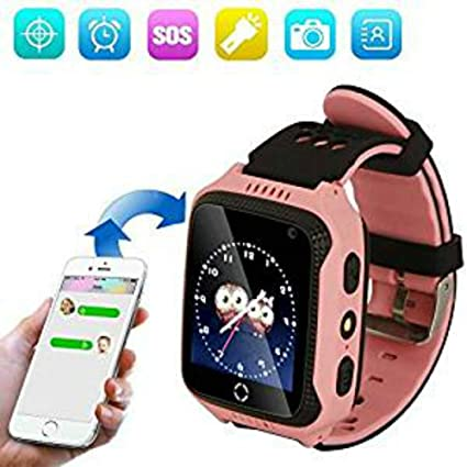 1.44 Pulgadas Touch Kids GPS Tracker Smart Watch SOS Reloj Pulsera ...