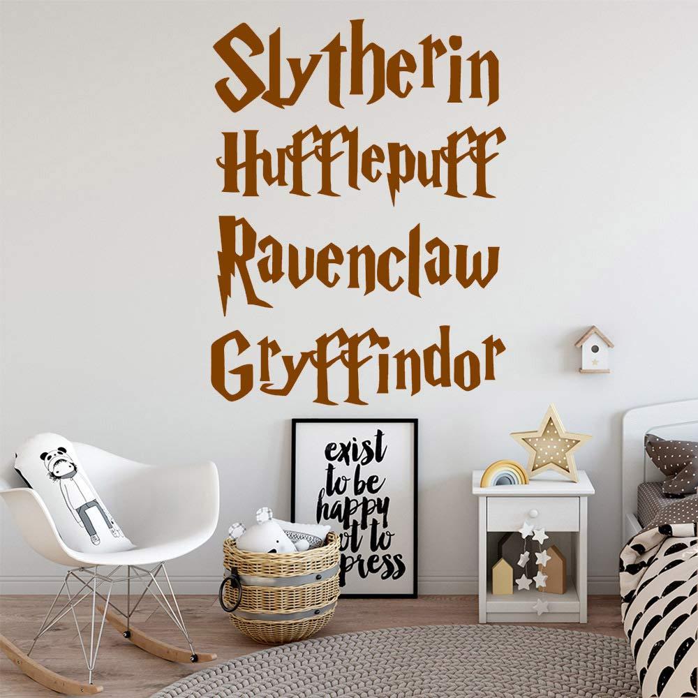 jiuyaomai DIY Potter Frase Adhesivos de Pared para niños ...