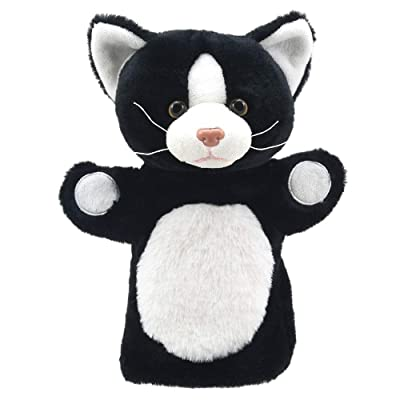 The Puppet Company - Animal Puppet Buddies - Black and White Cat - Hand Puppet: Toys & Games