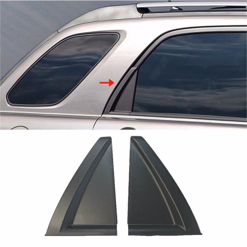 AutomotiveApple OEM Exterior Rear Door Outside Delta Moldings LH RH 2P For 06-10 Kia Sportage